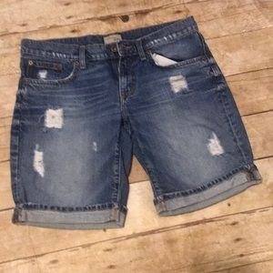 Size 4 distressed shorts